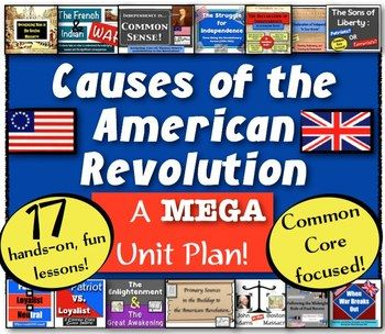 causes of the revolutionary war Test your knowledge about the american revolution, and see if you can navigate your way to independence every correct answer gets you closer to liberty.
