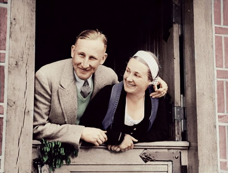 """wotansvolk88: sturmfurie:No man can say he was a friend of Heydrich. Reinhard did not wish any friends. […] About this issue we spoke often and long. Also I mentioned my own loneliness. Once he took my head in his hands, looked at me and said: """"Do we need any friends at all? You are my best friend. We do not need to share it with anyone. Let's continue as before!"""" Since then, I have felt much freer. Loneliness got a special meaning and content.– Lina Heydrich """"Mein Leben mit Reinhard""""(Thanks…"""