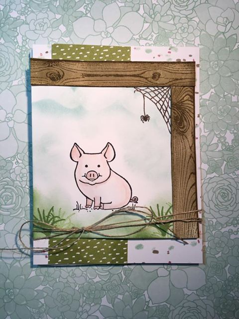 This little Piggy- Stampin' UP
