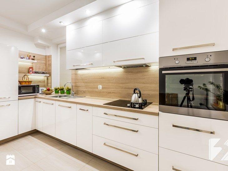 Kuchnia na wymiar w minimalistycznym stylu - zdjęcie od 3TOP Meble