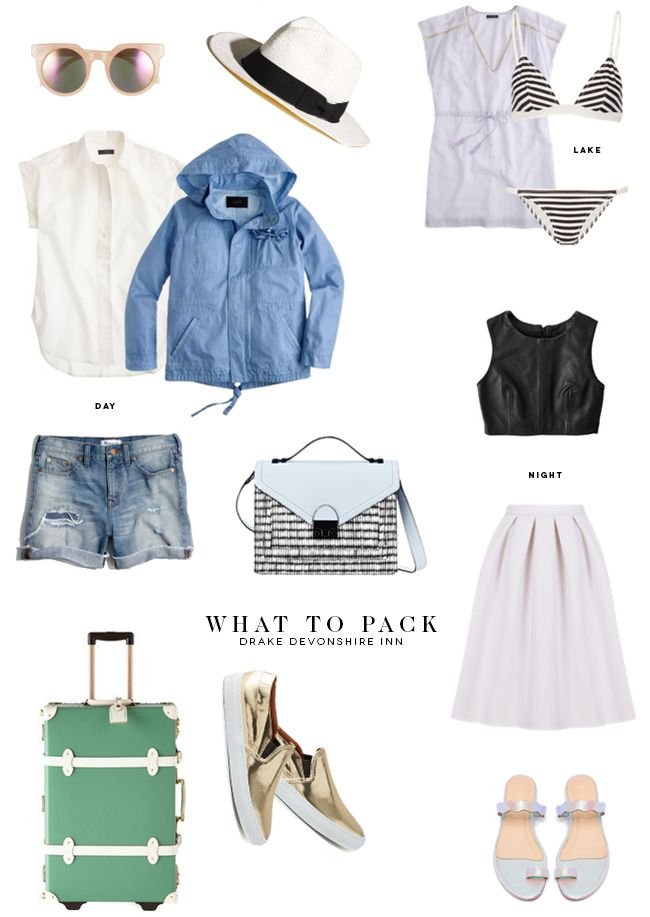 What to Pack for the Drake Devonshire Inn — on @SavvyHome