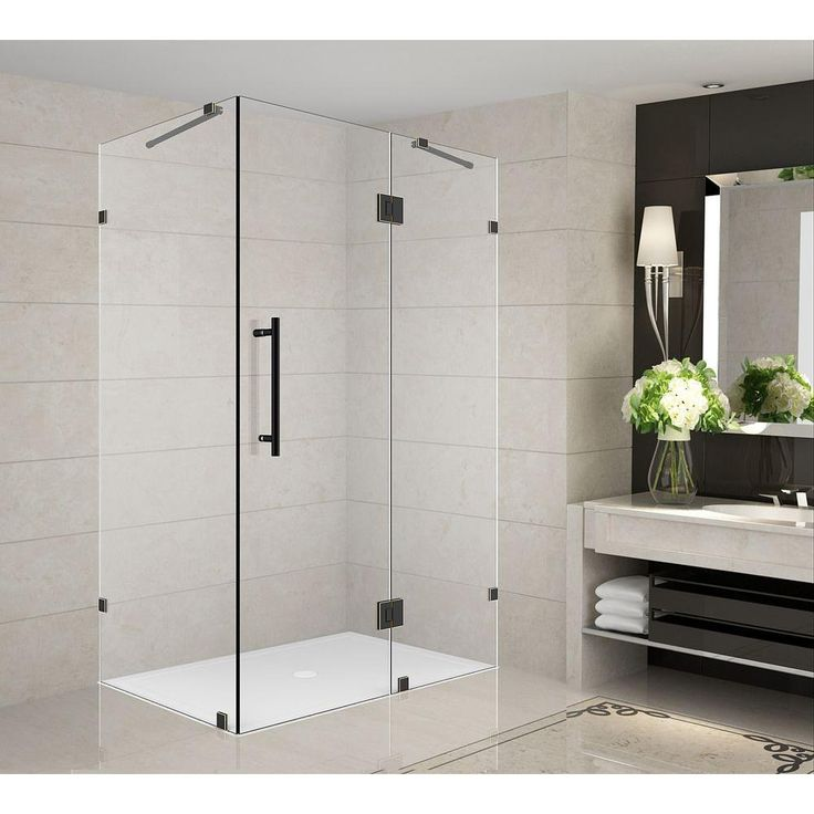 aston avalux 32 in x 34 in x 72 in completely frameless shower