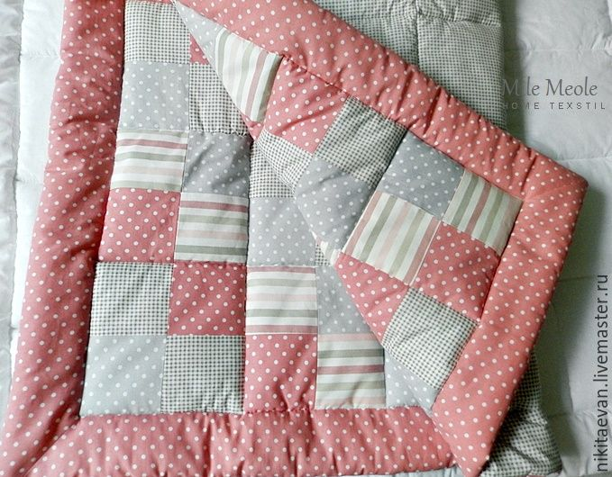 Купить детское лоскутное одеяло - детское лоскутное одеяло, одеяло детское, одеяло пэчворк