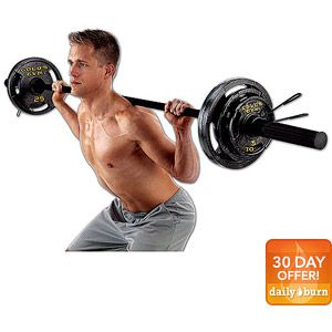 Gold's Gym 110 lb Olympic Weight Set...$94.97 @ WMSC