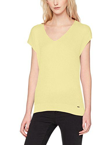 Pull jaune Small X M Femme Clair OxWTxUa