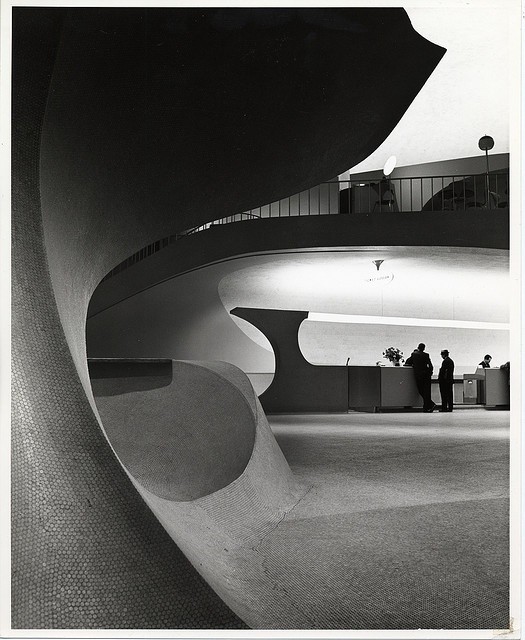 Ezra Stoller, JFK Airport TWA Terminal 1962: one of 'the' architecture photographers of the 20th century.