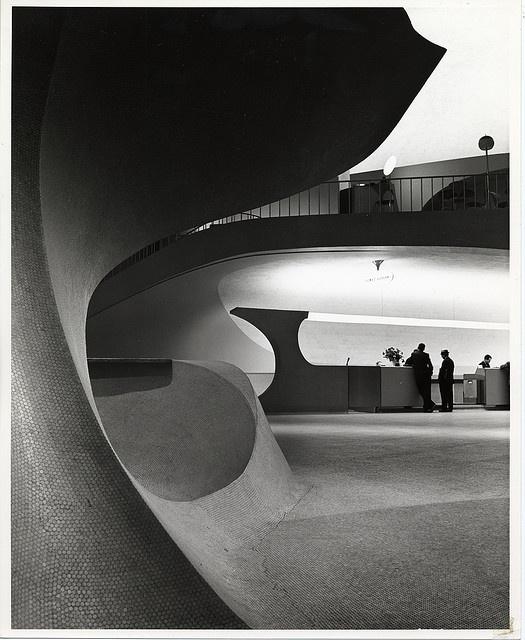 Ezra Stoller, photographer; JFK airport TWA Terminal, 1962