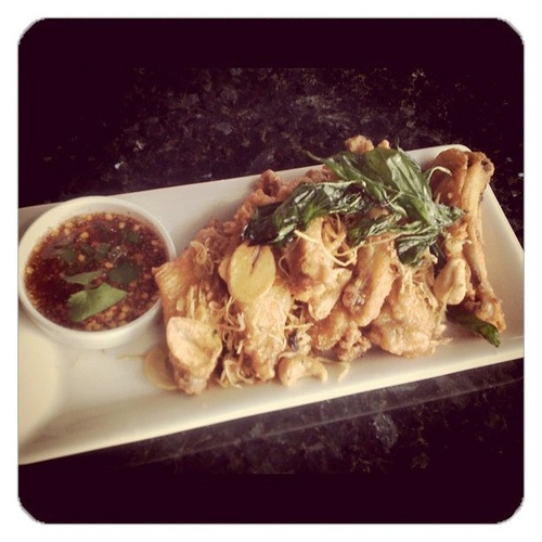 Chicken dish at Mango Seattle Thai Restaurant in Seattle Southside