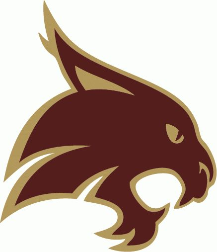 texas state university logo | Texas St-San Marcos Bobcats Primary Logo - NCAA Division I (s-t) (NCAA ...