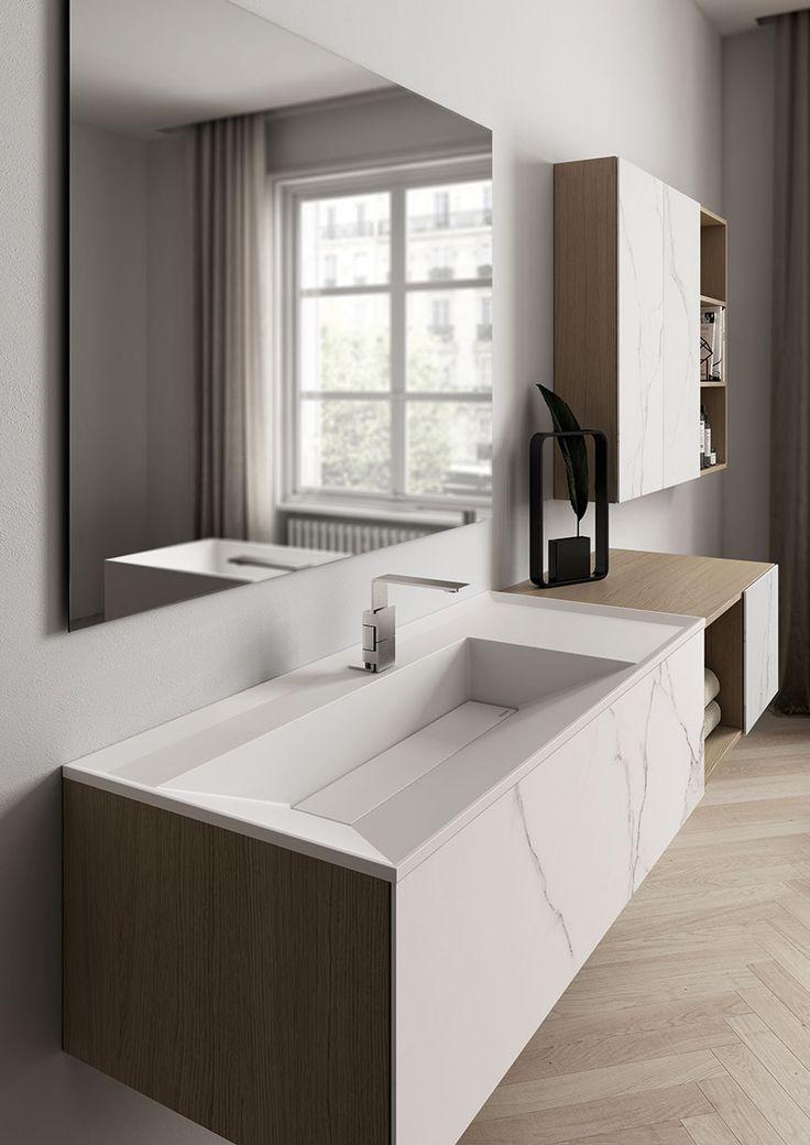 Oltre 25 fantastiche idee su bagno di rovere su pinterest - Aqua mobili bagno ...