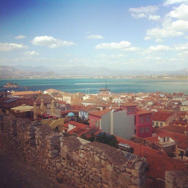 #acronafplia #old_town #view #nafplio