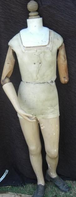beautiful french vintage mannequin