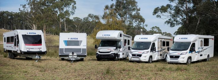 Which is your favourite? Starting left to right we have the Topaz caravan, Emerald caravan, Esperance motorhome, Birdsville motorhome, and finally the Leura motorhome.  See the full range on our website!