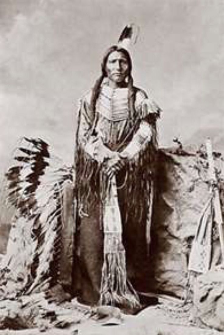 Chief Crazy Horse, Oglala Sioux Nation