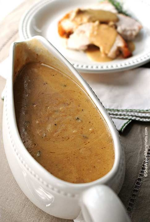 Don't let you turkey be lonely. Make some gravy. It's easy once you learn how to make Turkey Gravy.