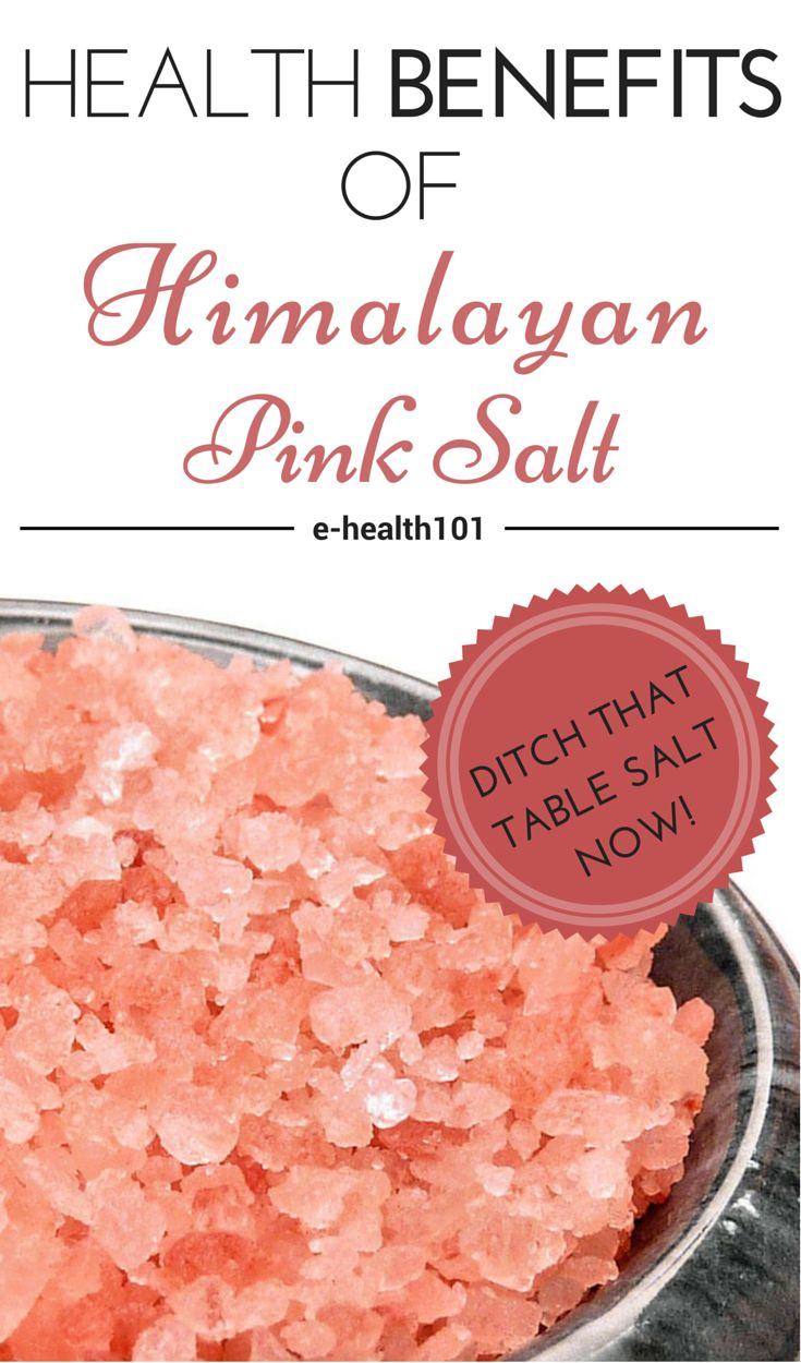 Health Benefits Of Himalayan Pink Salt
