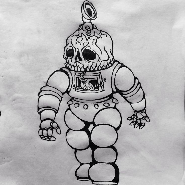 Astro skullbot