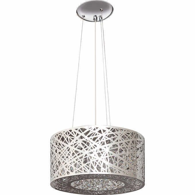 Modern crystal nest lighting fixture