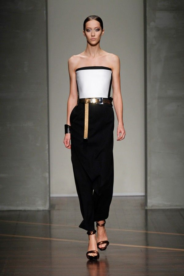 Spring Fashion 2013 Trend Off The Shoulder Gianfranco Ferre