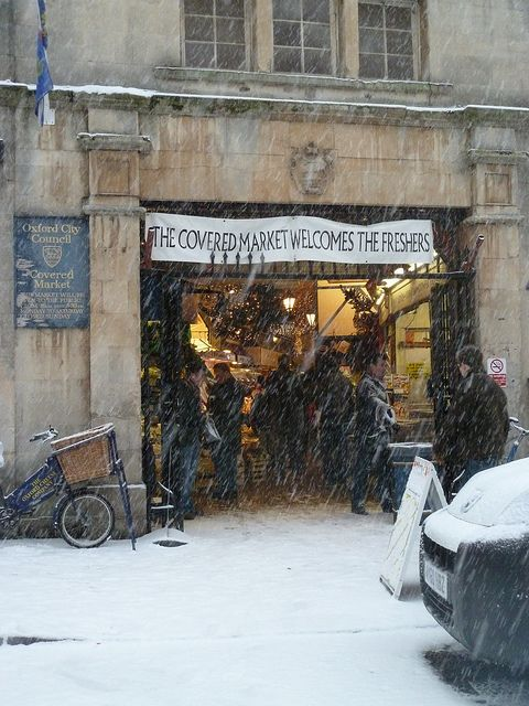 (Snow) Covered Market