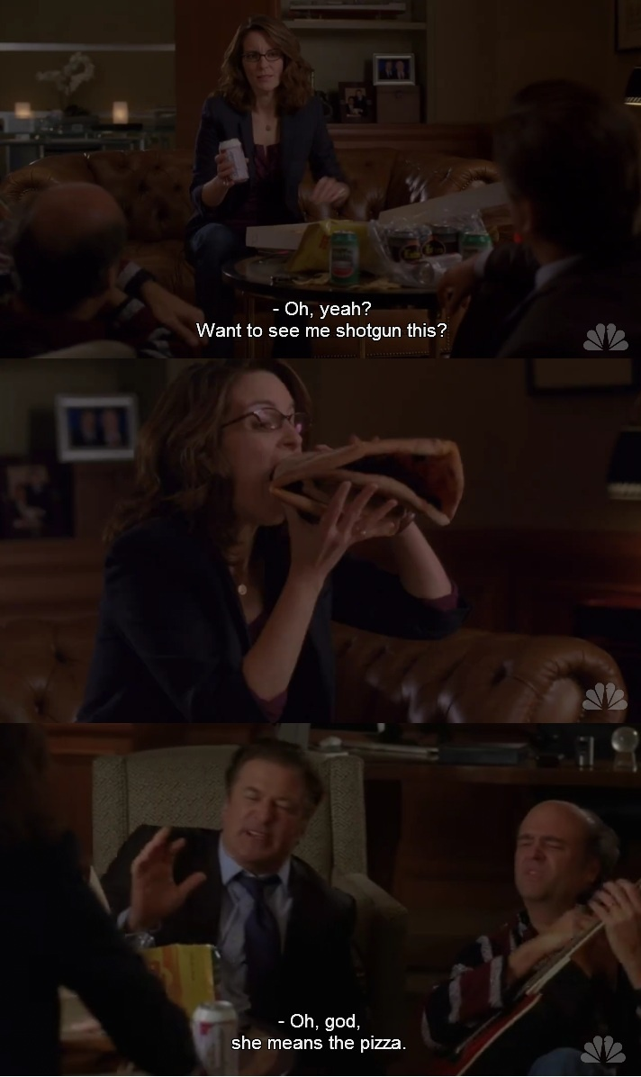 one of the most fabulous liz lemon moments of all time