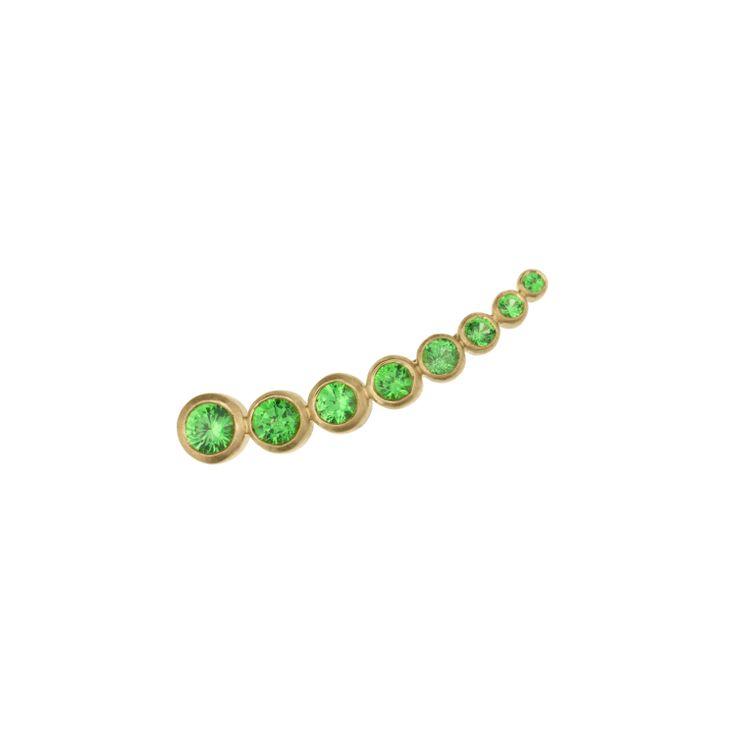 Petit Croissant de Lune Vert
