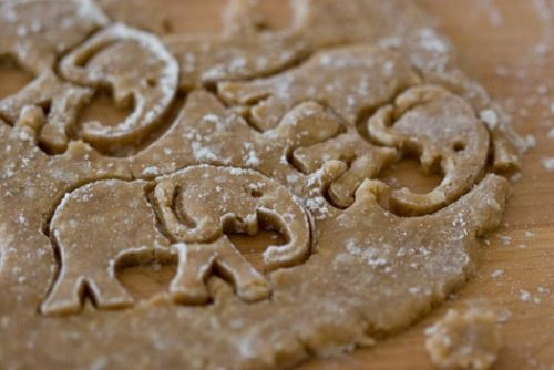 I need these cookie cutters: Cookies Art, Crackers Recipes, Animal Crackers, Elephants Cookies, 101Cookbook, Cookies Recipes, Coconut Oil, Rolls Tide, Cookies Cutters