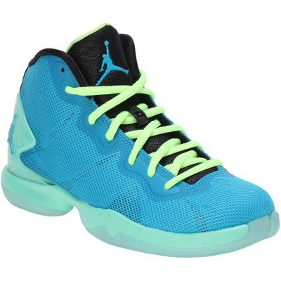 Nike Jordan Youth Blue Super Fly 4 BG Basketball Shoes