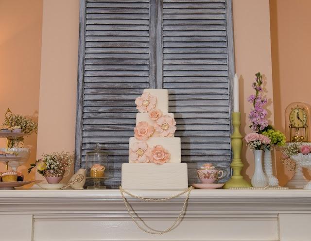 Rustic Peach Wedding  |  allure photography