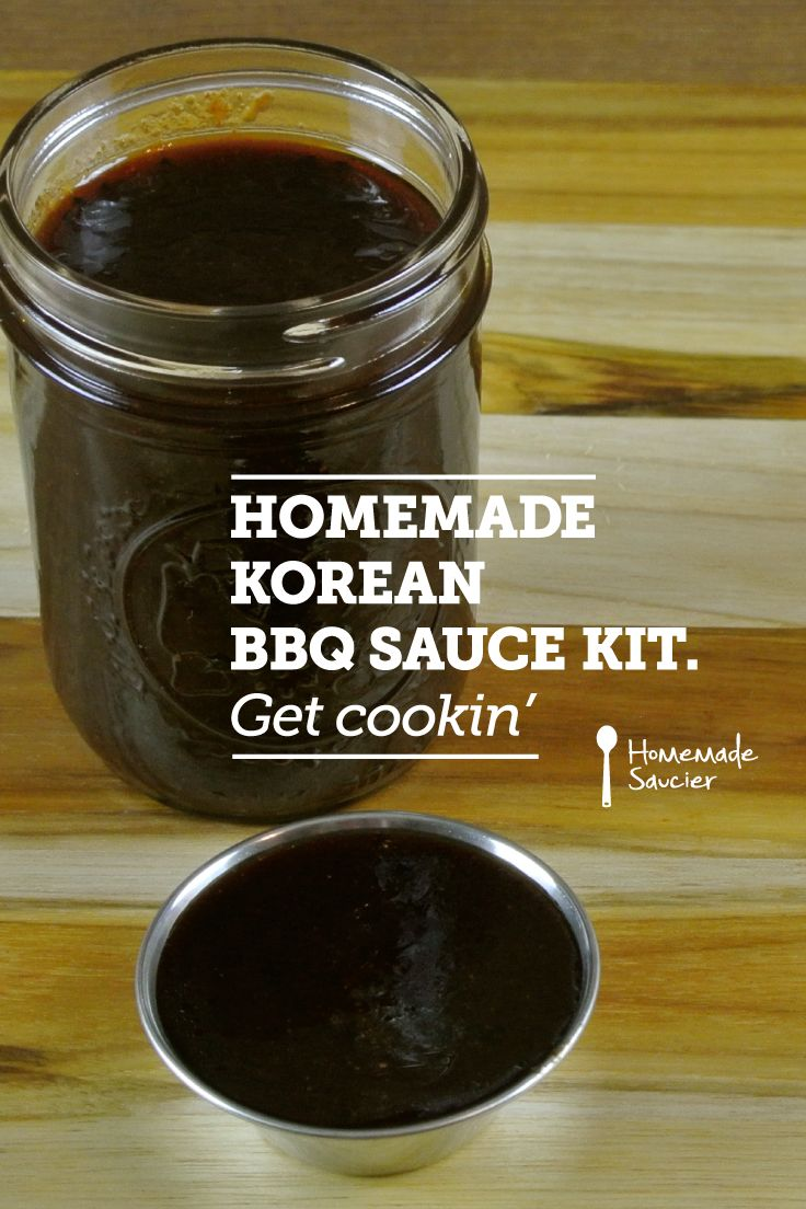 Get the ingredients to create your own homemade Korean BBQ sauce!