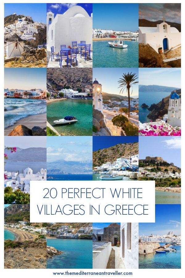 20 Beautiful White Villages in Greece – Pictures & Words | travel blog