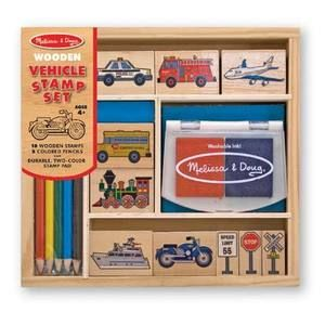 Vehicle Stamp Set | Birthday Gifts