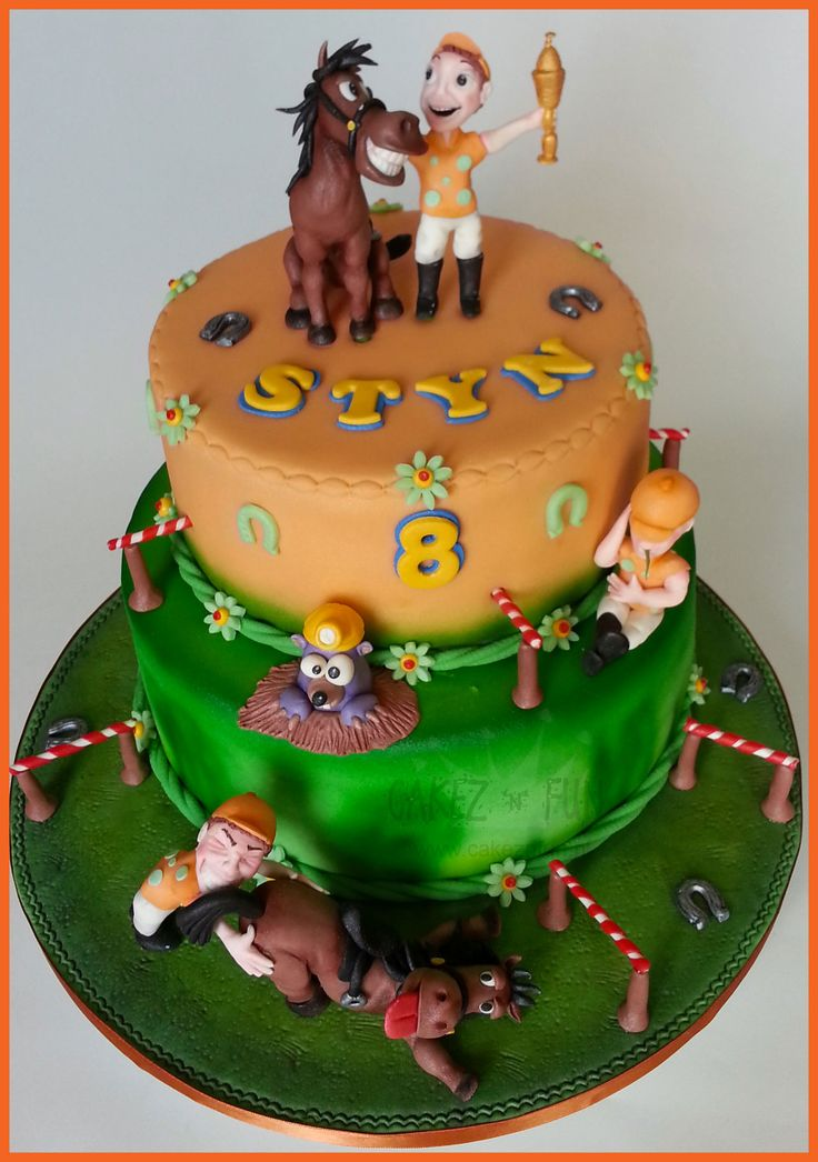 44 best images about Horse Racing Cakes on Pinterest ...