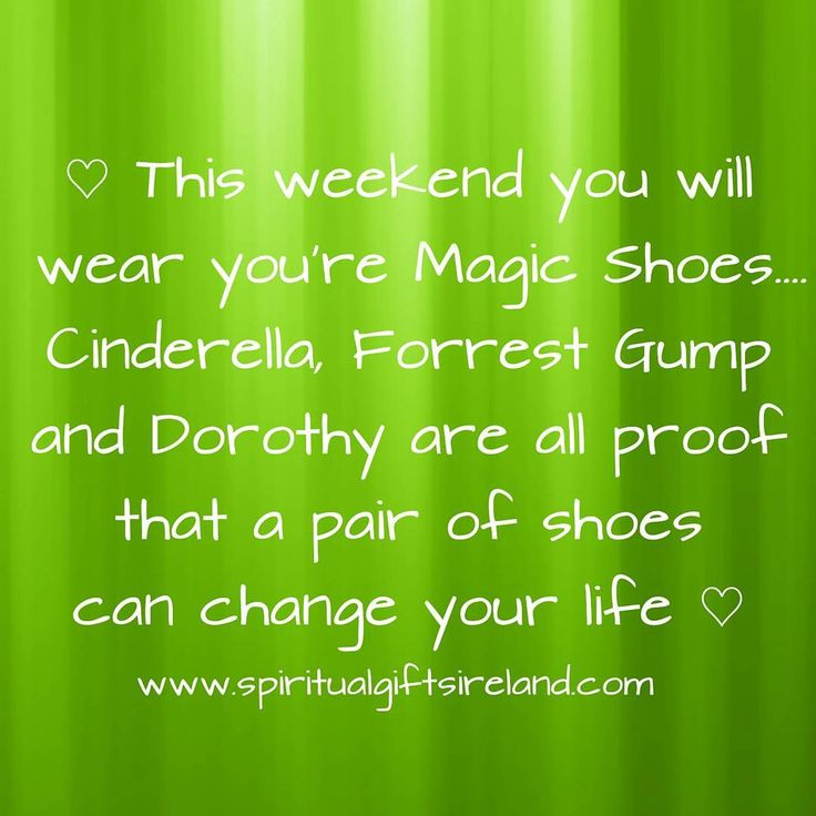 """Mama says they was my magic shoes. They could take me anywhere"" -Forrest Gump  www.spiritualgiftsireland.com  #forrestgump #cinderella #wizardofoz  #magic #believe #magicshoes #shoe #shoes #weekendfun #itstheweekend #makebelieve #fairy #fairygodmother #believeandachieve #believeinyourself #believeinyourdreams #makeithappen  #transformation #magical #dreams #wonderland #simplethings #simplethingsinlife #shoeaholic #runforrestrun #princess #chooselove  #choosehappiness  Visit our store at…"