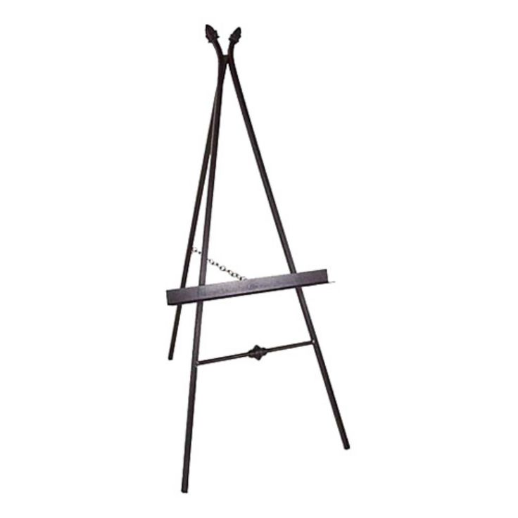 Paris Wrought Iron Picture Display Easel - GMC-EASEL-2 BR