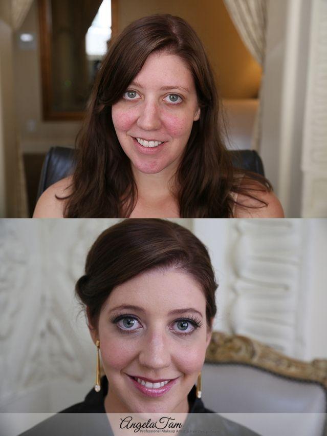 Pasadena Hilton Celebrity Wedding Makeup Artist And Hair Stylist Angela Tam Team