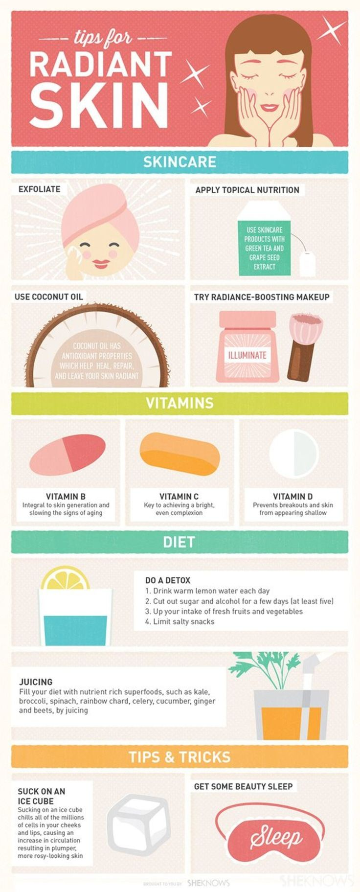 Dewy Skin #Trend: 29 Infographics to Help You Highlight Your Way to Perfection ...