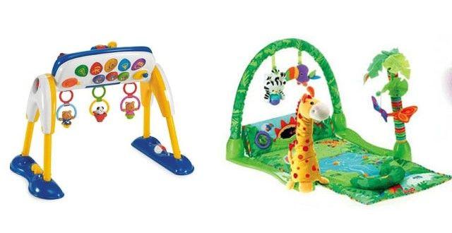 Bebeklere en uygun oyuncaklar