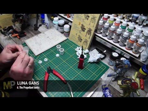 Building the Ma.K LUNA GANS part 6 [The Propellant Tanks] - YouTube
