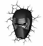 Star Wars Episode VII The Force Awakens Kylo Ren 3D Wall Light