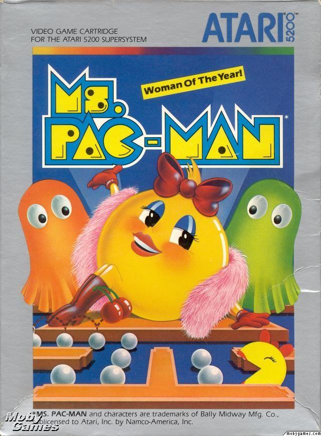 Atari 5200- Ms. Pac-Man