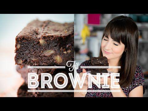 BROWNIE FIT (sem glúten e sem lactose)   RECEITAS FIT   Dani Noce - YouTube
