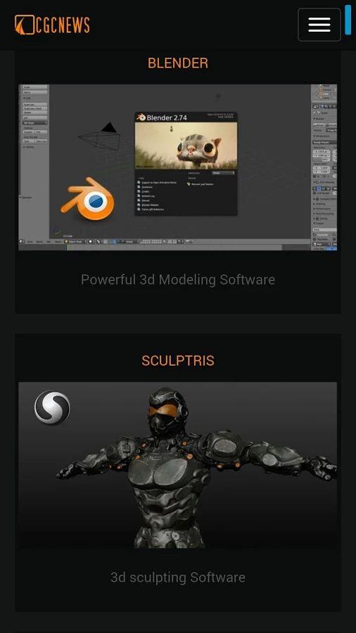CG Creative Sets: 2D/3D Artist- screenshot
