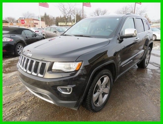 eBay: 2014 Jeep Grand Cherokee Limited 2014 Limited Used 3.6L V6 24V Automatic 4WD SUV clean clear title carfax 1 owner #jeep #jeeplife