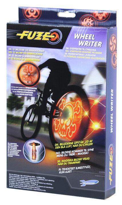 Fuze Wheel Writer - Supercool animationer i cykelhjulet!