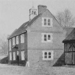 Aveley: Belhus. Stable, S.E. of house; late 16th-century.