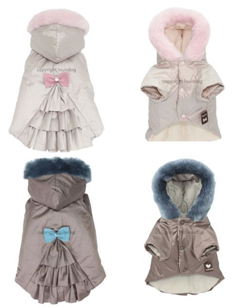 Winter Dog Coats- Quilted Dog Coat, Dog HOoded Coat, Dog Coats And Jackets, Puppy Boutique
