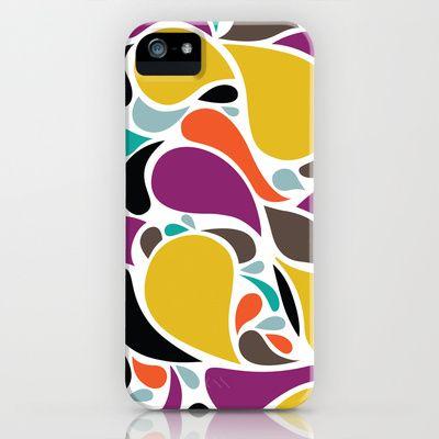 gotas de chuva iPhone Case by Beatriz Lamanna - $35.00