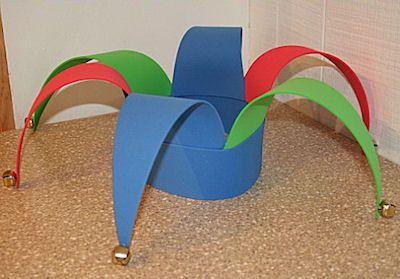 Craft Foam Jester Hat Pattern - Sherri Osborn