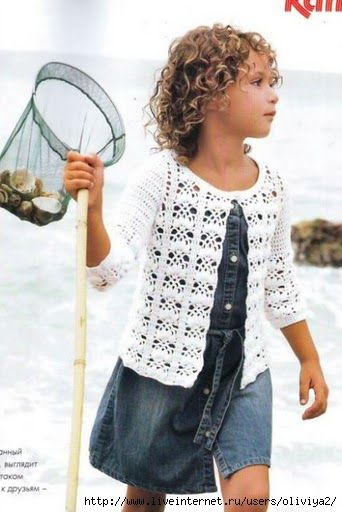 light cardigan for girls 6 years | Crochet Knitting Handicraft | Bloglovin'